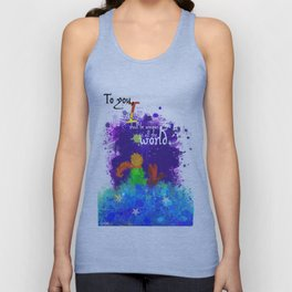The Little Prince | Quotes | But if you tame me, then we shall need each other. Part 3 of 3 Unisex Tank Top