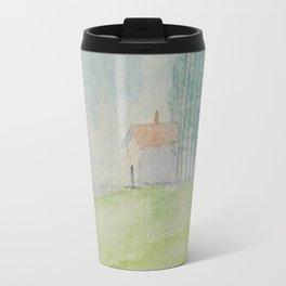 Hilltop house Travel Mug