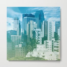 The Urban Center Metal Print
