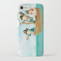 pirates iPhone & iPod Cases featuring Pirates! by Joy Paton
