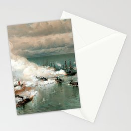 Battle Of Mobile Bay -- Civil War Stationery Cards