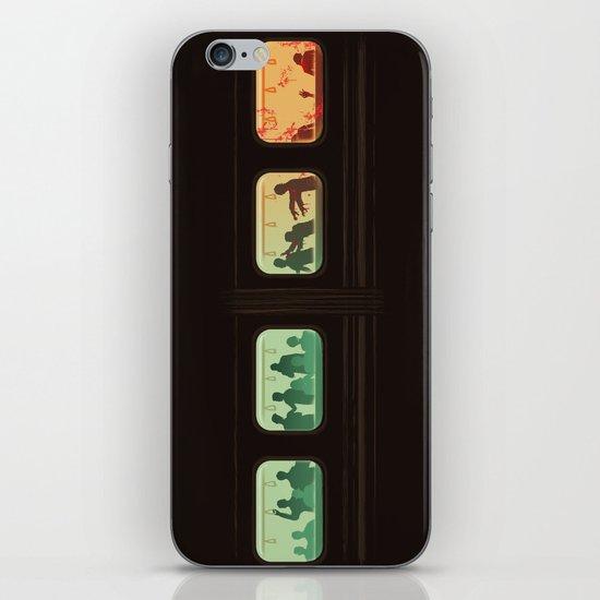 Ground Zero - Zombie Subway iPhone & iPod Skin