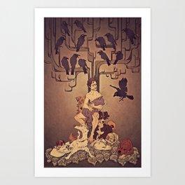 Meditations on Murder - nbc Hannibal Art Print
