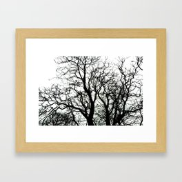 Left Framed Art Print