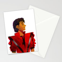 Thriller Red Jacket Stationery Cards