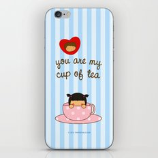 You're my cup of tea iPhone & iPod Skin