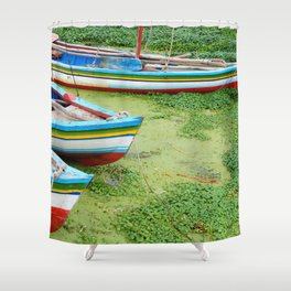 Titicaca 4 Shower Curtain