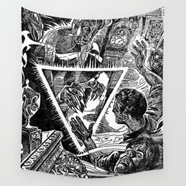 The Triangle of Terror Wall Tapestry