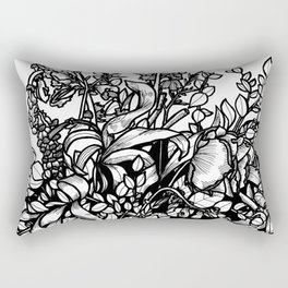 dried flowers Rectangular Pillow