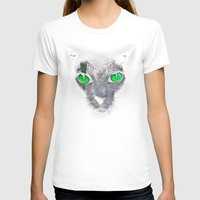 black cat T-shirts featuring Black Cat by Sitchko Igor