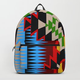 American Native Pattern No. 96 Backpack