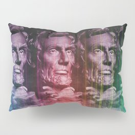 Abraham Lincoln colored Pillow Sham