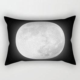 CHALK WHITE MOON Rectangular Pillow