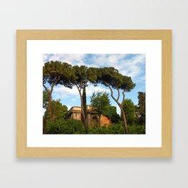 Church, Via Appia Framed Art Print