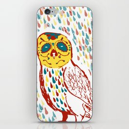 Sugar Skull Owl iPhone Skin