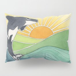 Westcoast Orca Pillow Sham
