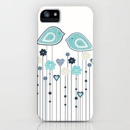 I heart birdies iPhone Case