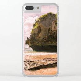 Uluwatu Beach Clear iPhone Case