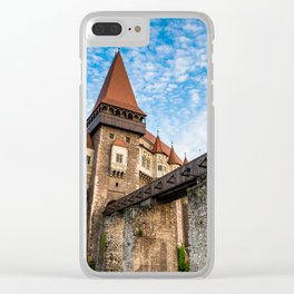 Corvin Castle, Transylvania Clear iPhone Case