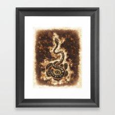 Serpent Power Framed Art Print
