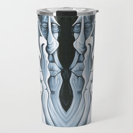 Mountain Faces Travel Mug