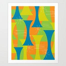 Mod Motion Art Print
