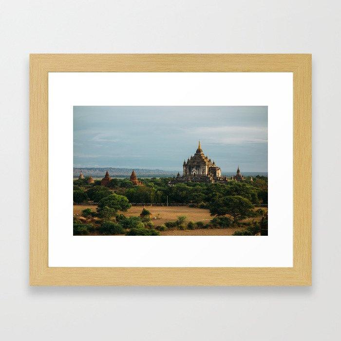 Burma's Country Roads II Framed Art Print