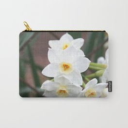 Narcissus Flowers Carry-All Pouch