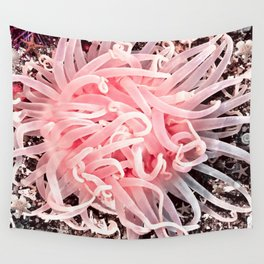 Anemone Flower Wall Tapestry