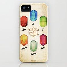 Legend of Zelda - The Rupees of Hyrule Kingdom Guide Slim Case iPhone (5, 5s)