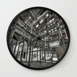 Metallic Structures Wall Clock