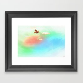 Whimsy Avionics Framed Art Print
