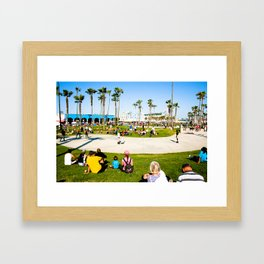 Venice Beach Framed Art Print