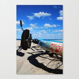 Beachin' Ride Canvas Print