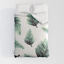 Danae-Leaves in the air Comforters