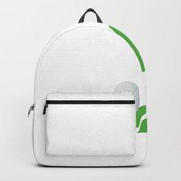 Let's Par print Golf Party Golfing Gift graphic Backpack