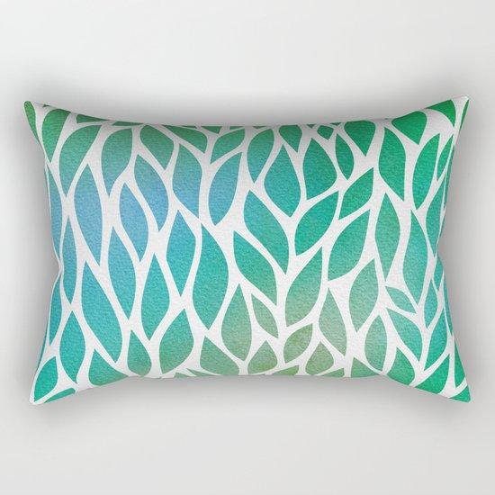 Petals Pattern #2 Rectangular Pillow