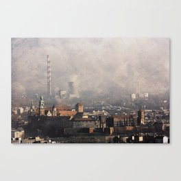 Wawel from above Canvas Print