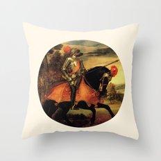 Dog Cavaliere Throw Pillow
