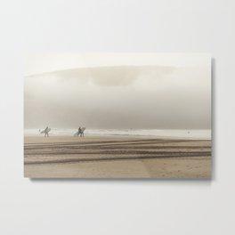 surfers Metal Print
