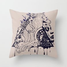 Playful Mind Throw Pillow