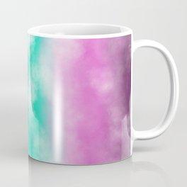 Fruity Cloudscape - grape purple, aqua green & citrus yellow skyscape Coffee Mug