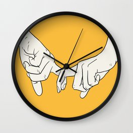 HANDS 5 Wall Clock