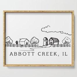 Abbott Creek IL Serving Tray