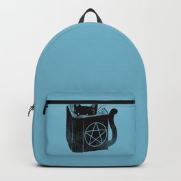 WITCHCRAFT CAT (Blue) Backpack