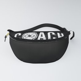 Coach Weight Lifter Fitness Toning Gym Fanny Pack