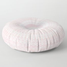 Pastel Pink Mandala Floor Pillow