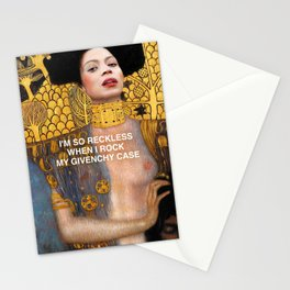 Rock in Givenchy  Stationery Cards