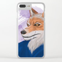 Yahei from 47 Furious Tails: Art by Alexia Veldhuisen Clear iPhone Case