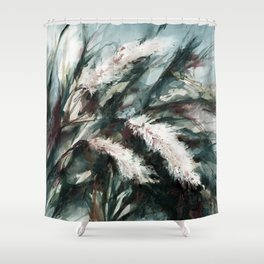 Pampas Grass 1i by Kathy Morton Stanion Shower Curtain